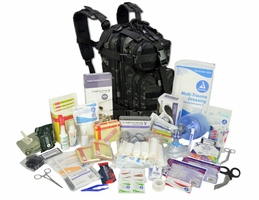 Lightning X Stocked EMS-EMT Trauma and Bleeding First Aid Responder Medical Backpack