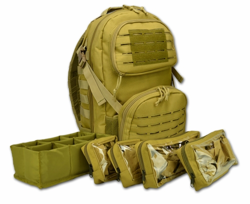 Lightning X Tactical Medic Backpack with Hydration port