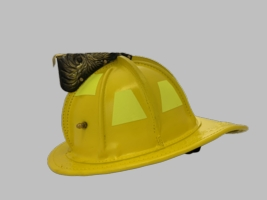 PHENIX TL2 NFPA HELMET - YELLOW BRONX BEND