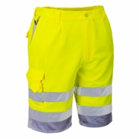 Portwest Hi-Vis Polycotton Shorts