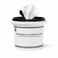 Replacement Bucket and Lid for Disposable Dry Wipes