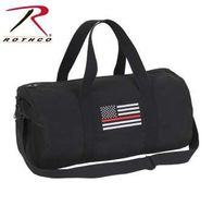 Rothco Thin Red Line Canvas Shoulder Duffle Bag- 19 Inch