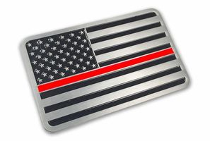 Thin Red Line Decals, Patches and Pins