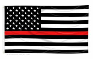 Thin Red Line Flags