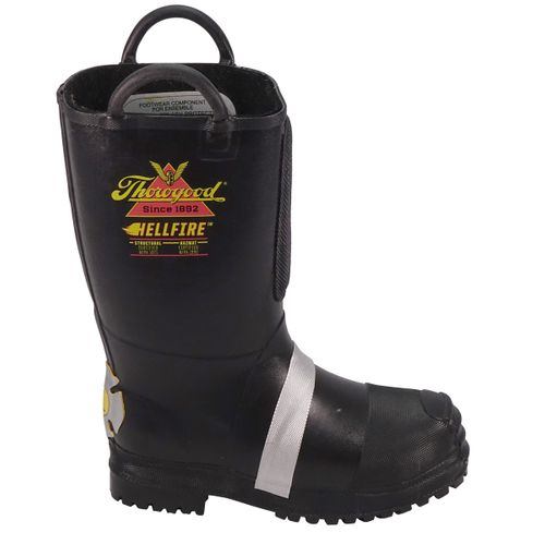 LION by Thorogood Hellfire Rubber Fire Boot W/ Lug Sole 807-6003
