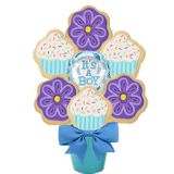 Baby Boy Cookie Bouquet