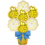 Bee Cookie Bouquet