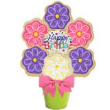 Birthday Garden Cookie Bouquet