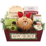 Happy Holidays Fido Dog Gift