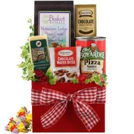 Pizza Makings Gift Basket