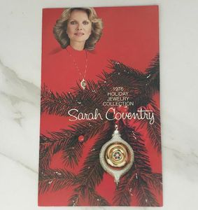 1976 HOLIDAY JEWELRY COLLECTION Pamphlet