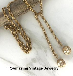 CHAIN-ABILITY Necklace Goldtone