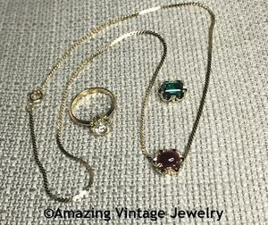 CHARADE Ring/Necklace Set
