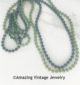 FASHION FROST Necklace Set - Blue & Green