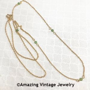 GENUINE JADE Necklace - Beaded