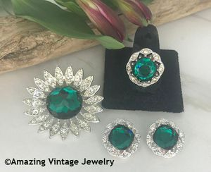 KATHLEEN Pin, Earrings & Ring Set
