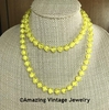 KRACKLE Necklace - Yellow
