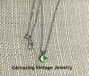 LADY COVENTRY BIRTHSTONE PENDANT Necklace - August Peridot