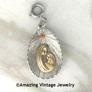 MADONNA AND CHILD Limited Edition Charm