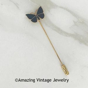 MIDNIGHT BUTTERFLY Stickpin
