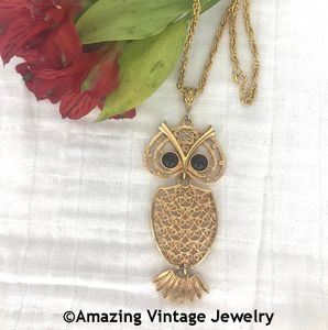 NITE-OWL Necklace- wrong chain