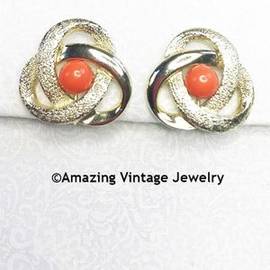 ORBIT Earrings - Orange