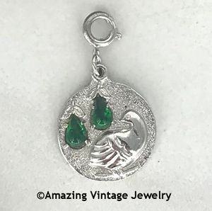 PARTRIDGE IN A PEAR TREE Charm