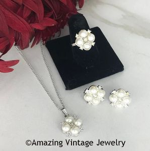 PRINCESS Set - Necklace, Earrings & Ring