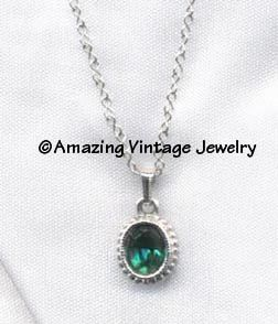 SARAH'S BIRTHSTONE PENDANT - May