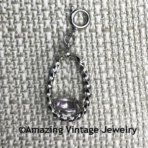 STERLING SILVER CHARMS - June - Alexandrite