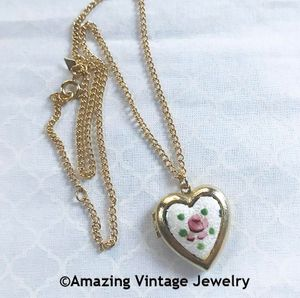 TEEN HEART LOCKET Necklace