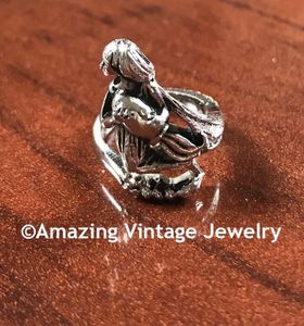 WRAP AROUND ZODIAC Ring AQUARIUS