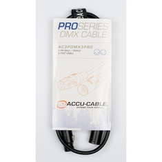 Accu-Cable PRO DMX CABLES 3 PIN