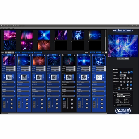 ADJ ArKaos Media Master Express (Upgrade from 4 to 5)