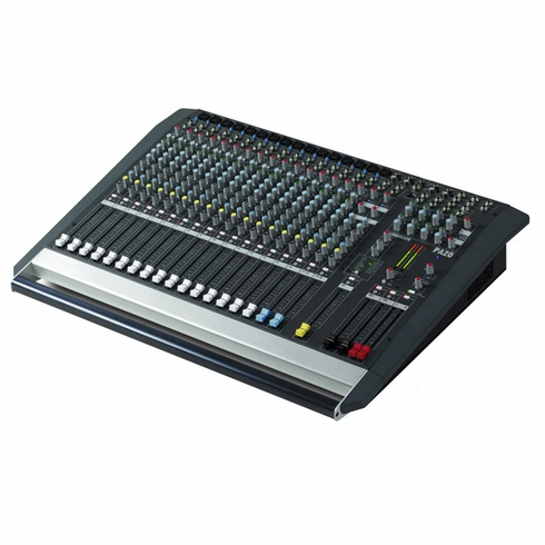 ALLEN & HEATH PA20-CP 16 Mono Mic or Line Inputs + 2 Stereo Powered Mixer