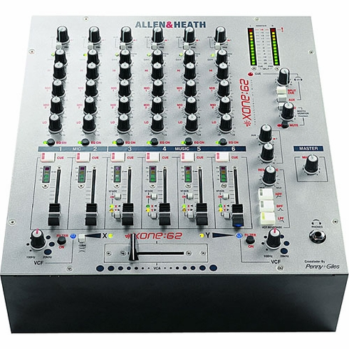 ALLEN & HEATH XONE2:62 Professional Club / DJ Mixer