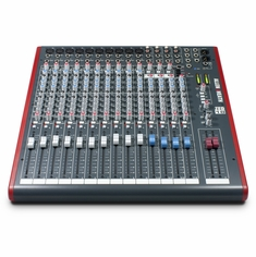 ALLEN & HEATH ZED-18 10 Mono Mic/Line + Stereo, USB I/O 4 Aux Sends 100mm Pro Taper Faders.