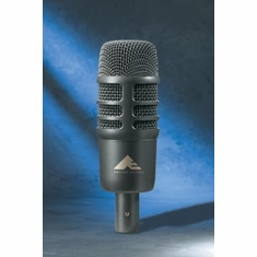 AUDIO-TECHNICA AE2500 Cardioid condenser and dynamic dual-element instrument microphone