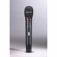 AUDIO-TECHNICA AEW-T6100AD 4000/5000 Series Handheld microphone/transmitter with hypercardioid dynamic element, 655.500-680.375 MHz (TV 44-49)