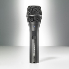 AUDIO-TECHNICA AT2005USB Dynamic handheld microphone with digital(USB) and analog (XLR) outputs. Windows & Mac compatible.