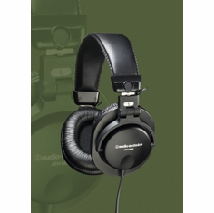 AUDIO-TECHNICA ATH-M35 Closed-back folding dynamic monitor headphones