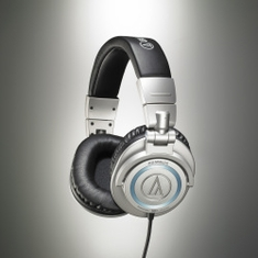 AUDIO-TECHNICA ATH-M50S/LE 50th Anniversary Limited Edition; Closed-back dynamic monitor headphones, collapsible design, straight cable