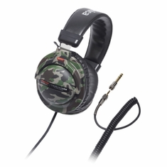 AUDIO-TECHNICA ATH-PRO5MK2CM Closed-back dynamic stereo DJ monitor headphones, camouflage