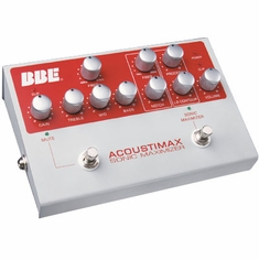 BBE ACOUSTIMAX High Quality Instrument Preamp