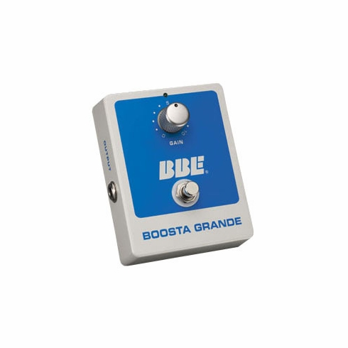 BBE BOOSTA GRANDE 20dB of Clean Boost with True Bypass