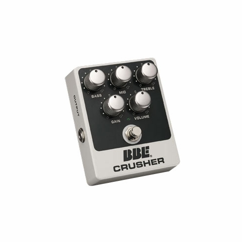 BBE CRUSHER High Gain Distortion with 3-band EQ and True Bypass