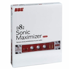 BBE D82 SONIC MAXIMIZER PLUGIN Mac OSX and Windows Plugin