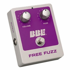 BBE FREE FUZZ 70s Fuzz Pedal with True Bypass & Dynamic Fuzz Effects
