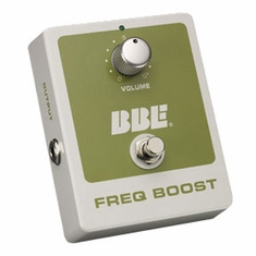 BBE FREQ BOOST Vintage Treble Booster with True Bypass