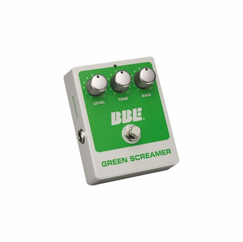BBE GREEN SCREAMER Vintage Overdrive with True Bypass